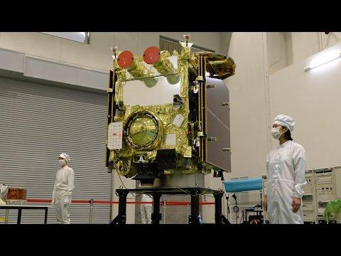 小惑星探査機「はやぶさ2」公開 宇宙航空研究開発機構 JAXA