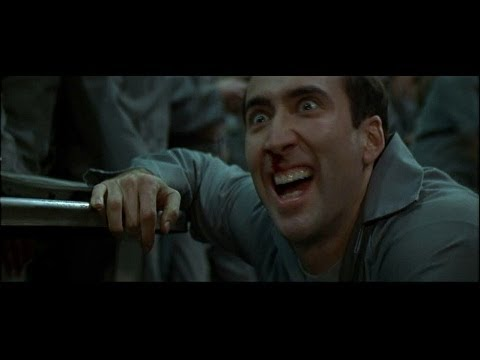Nicolas Cage Face Off No Face I'm Castor Troy - YouT...