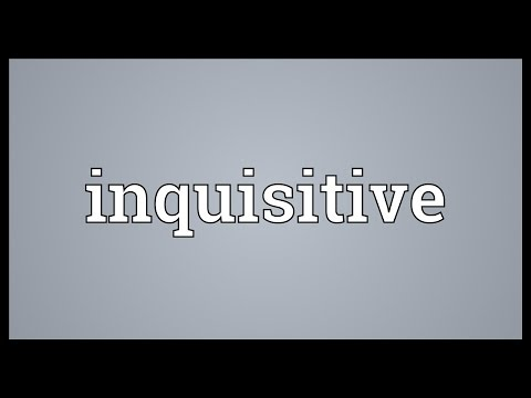 Inquisitive Meaning