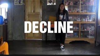 DECLINE - Raye & Mr. Eazi | Choreo By @DanaAlexaNY | Dance Cover By Justine Quejada
