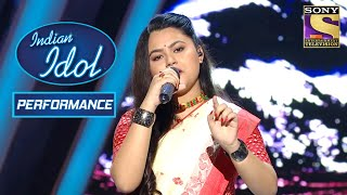 Indira ने 'Chadh Gayo Papi Bichua' पे दिया एक Melodious Performance! | Indian Idol Season 10