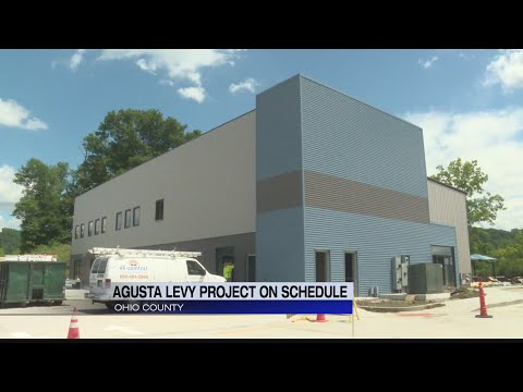 Construction on track for new Augusta Levy Learning Center