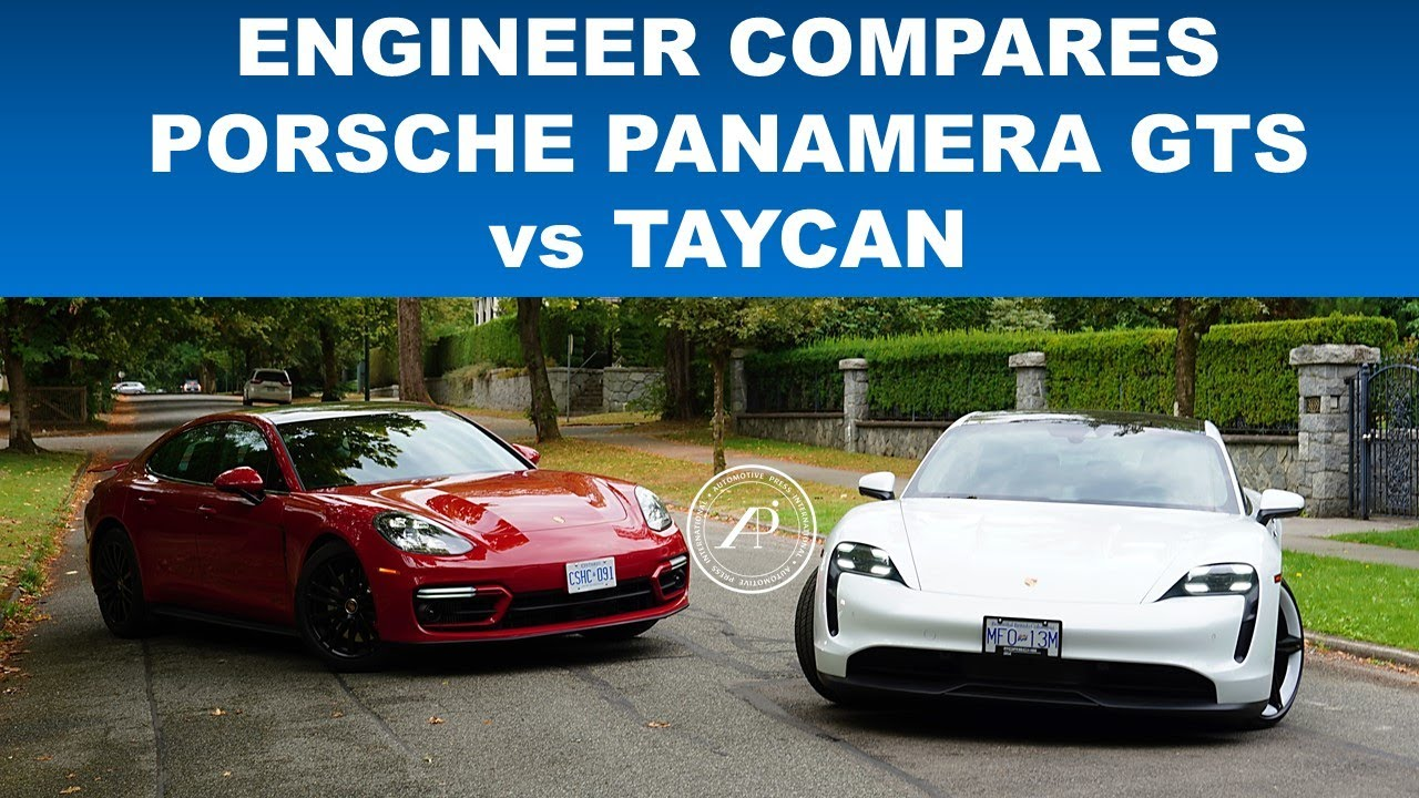 ENGINEER'S DILEMMA: ENGINE vs ELECTRIC - Which One is Better? Porsche Panamera GTS vs Taycan 4S