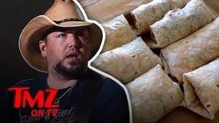Jason Aldean Is Wrapped Up In A Burrito Controversy | TMZ TV