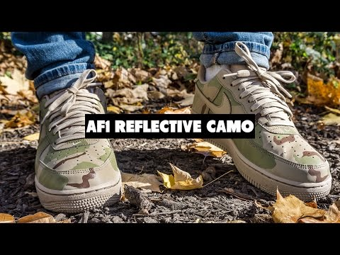 Forces Coming Back? Nike Air Force 1 Reflective Desert Review + On Foot