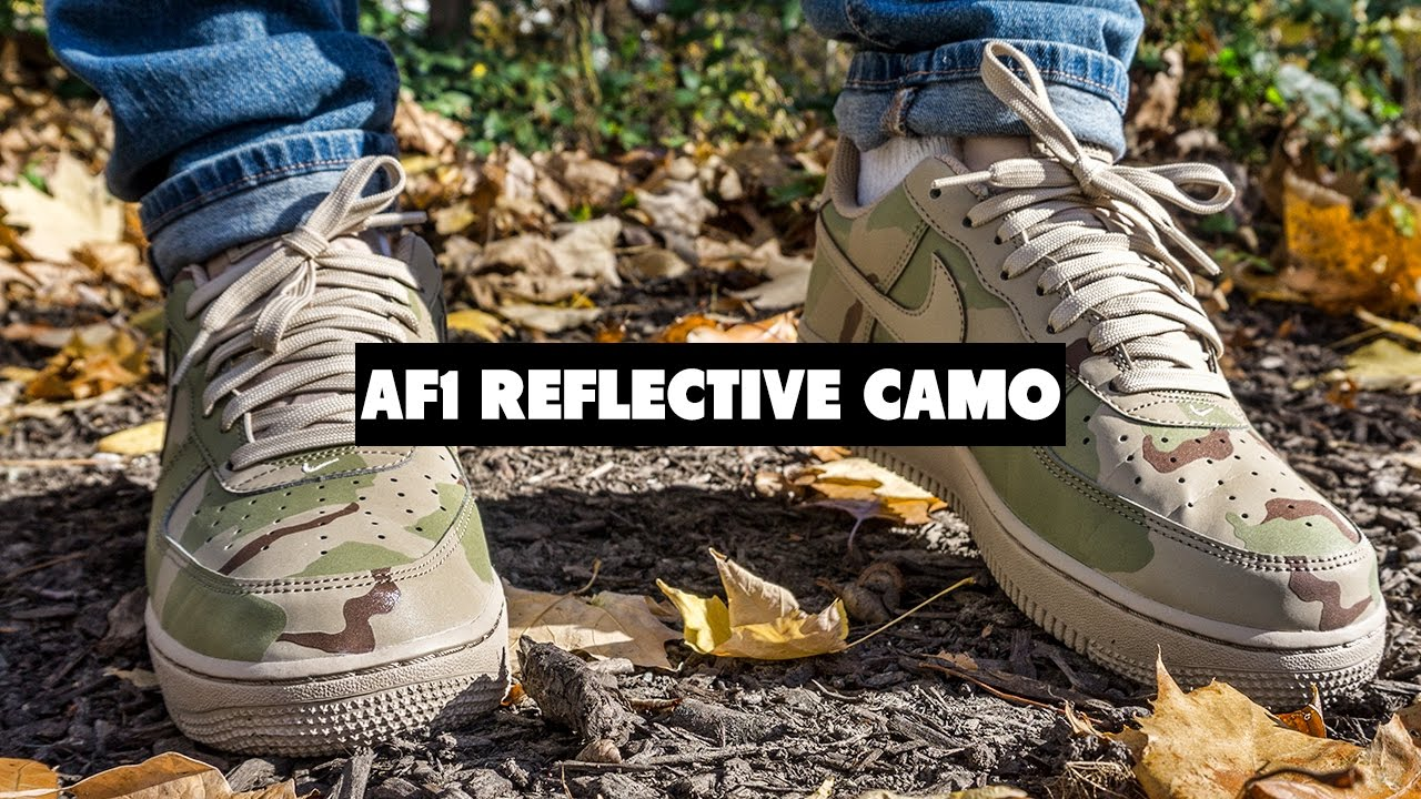 40ad82603423c Forces Coming Back? Nike Air Force 1 Reflective Desert Review + On ...