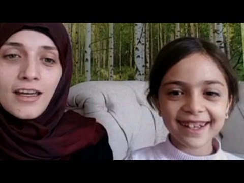 Bana Alabed's full interview on Syrian attack