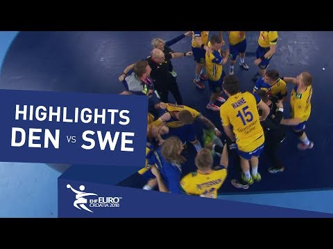 Highlights | Denmark vs Sweden | Men's EHF EURO 2018