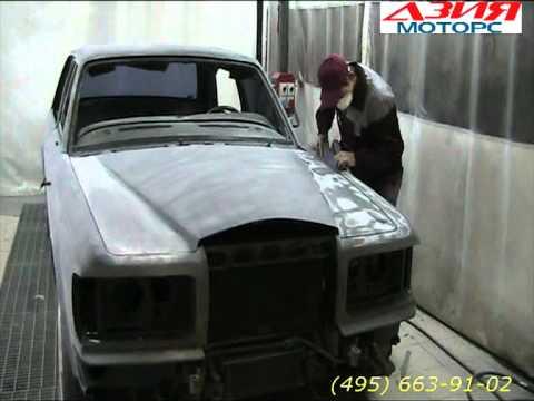 как красят автомобили бентли