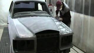 видео Кузовной ремонт и полная покраска