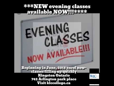 ***NEW evening classes available NOW!!!****