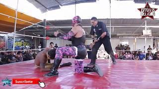 Látigo vs Dragón Bane mano a mano en la Coliseo Coacalco con MEXA