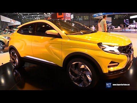 Lada XCode Concept Exterior Walkaround 2016 Moscow Automobile Salon