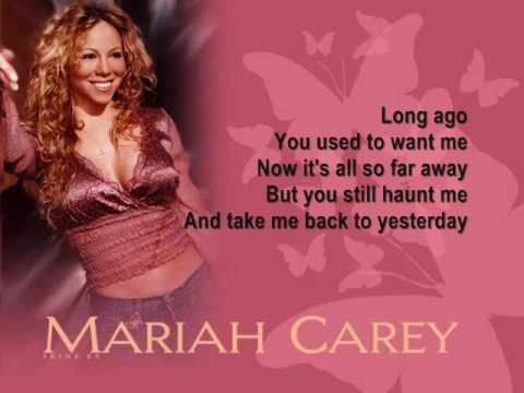 Mariah Carey Long Ago (Lyrics)