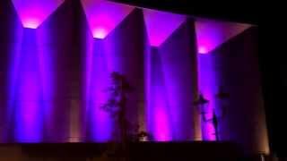 今治市公会堂 カラーライトアップ