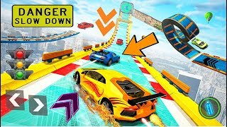 Ramp Car Driving Stunts Car Racing Game - Android Gameplay Video