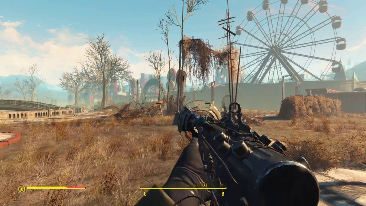 New fallout 4 1. 2 patch improves performance on all platforms.