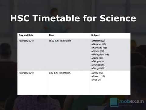 Hsc Timetable Pdf File