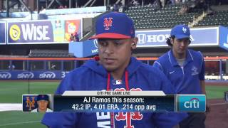 AJ Ramos talks joining Mets, and relationship with Jose Fernandez