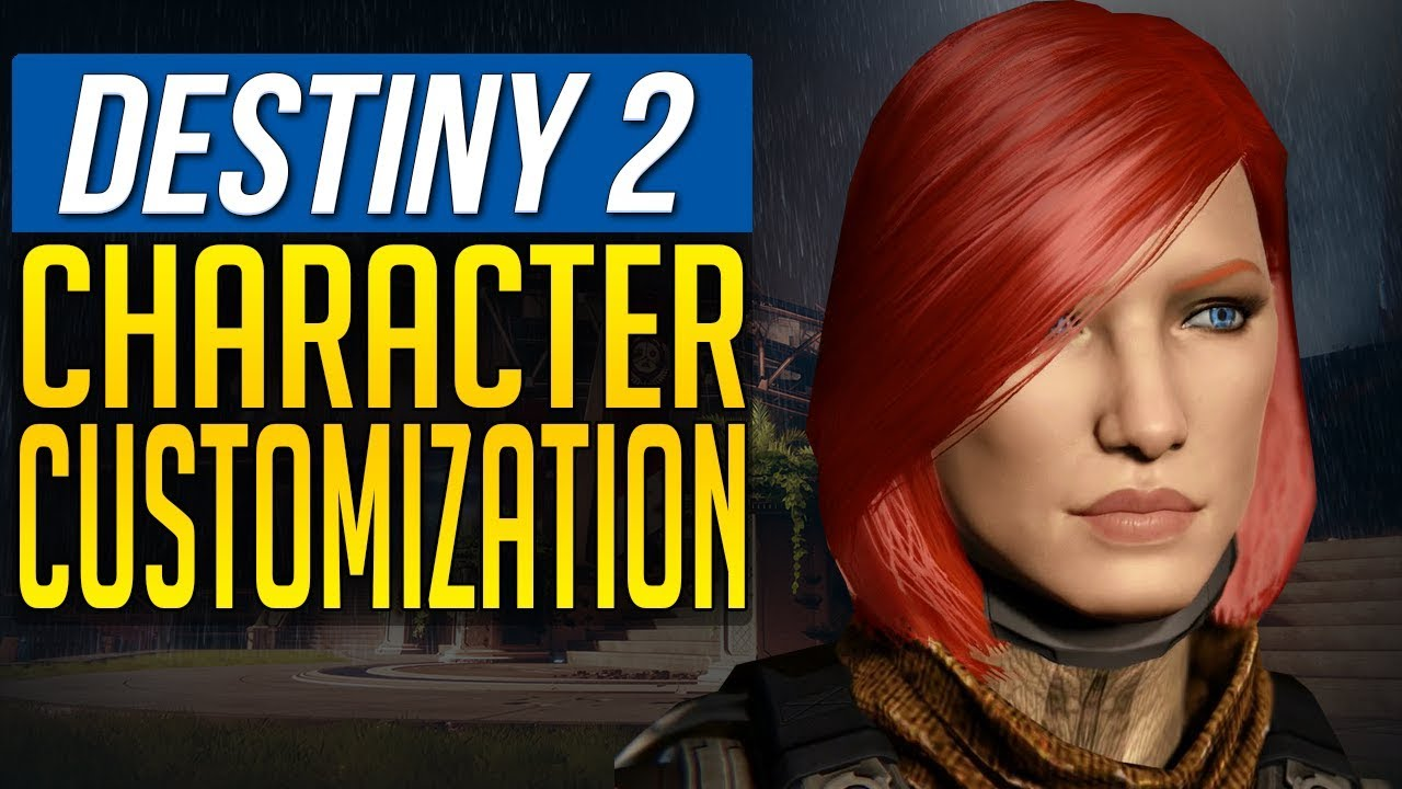 Destiny 2 News No Character Customization For Your Imported Character Youtube