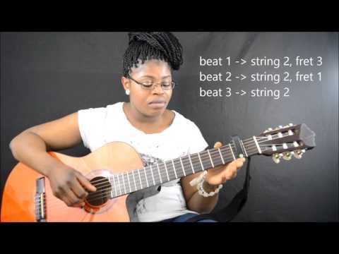 Oliver Mtukudzi - todii (tutorial  part1&2 by CamGuitar)