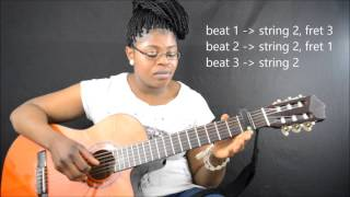 Oliver Mtukudzi - todii (tutorial  part1&2 by CamGuitar)