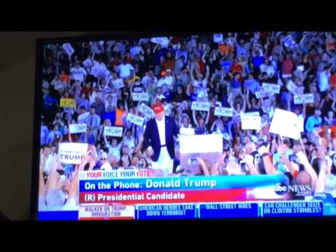 Trumpettes on This Week with George Stephanopoulos