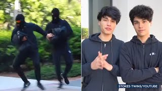 'Stokes Twins' YouTube stars could go to prison over phony bank robbery | ABC7
