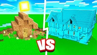 PRO MINECRAFT HOUSE vs NOOB MINECRAFT HOUSE!