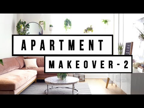 APARTMENT MAKEOVER PART 2 - THE FINISHED LOOK | ANN LE