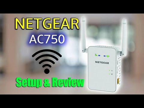 NETGEAR AC750 WiFi Range Extender | Setup & Review