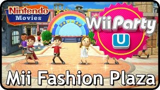 Wii Party U - Mii Fashion Plaza (3 players, Master Difficulty)