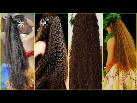 10 POLYNESIAN HAIR GROWTH SECRETS │ HAIR SECRETS FROM THE ISLANDS │ HOW TO GROW HAIR NATURALLY LONG