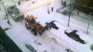 NY's Dumbest; NYC sanitation workers DESTROY A CAR