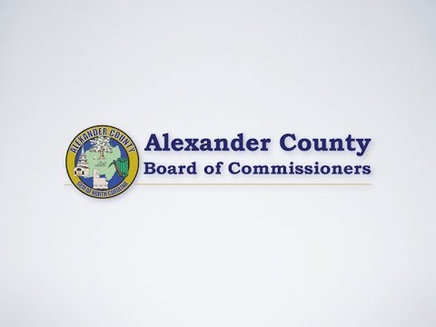 Alexander County Board of Commissioners Meeting - April 9, 2018