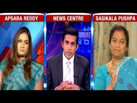 Apsara Reddy Vs Sasikala Pushpa - Exclusive Interview