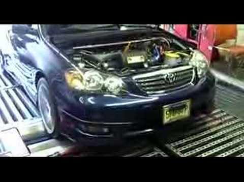 2005 Toyota Corolla Xrs >> Toyota Corolla 2005 S TRD Supercharger Dyno Tuning - YouTube