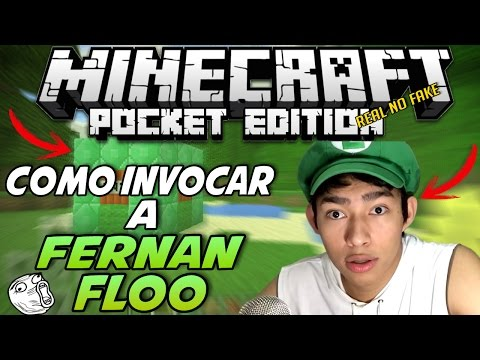 Thumbnail: Como Invocar a Fernanfloo En Minecraft PE 1.0 BETA - FERNANFLOO EN MINECRAFT PE - 100% REAL NO FAKE