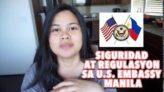 SECURITY REGULATIONS SA LOOB NG EMBASSY MANILA (TAGALOG) - Abby Manio