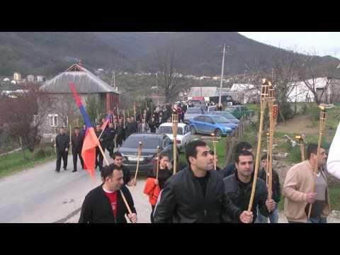 Сочи. День памяти жертв геноцида .