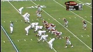 TEXAS MASSACRE *(First Half Highlights)  Oklahoma vs. Texas 2000