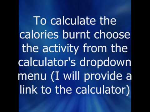 how to find out how many calories you burn
