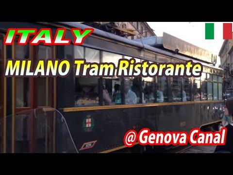MILANO Tram Ristorante ATMosfera at Genova Canal