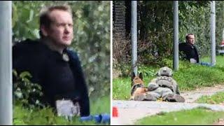 Polisen: Peter Madsen bar bälte som liknade bomb
