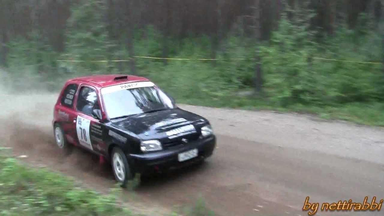 1000 lakes rally 2012