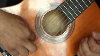 Μαθήματα κλασικής κιθάρας .Βασική άσκηση για το δεξί χέρι