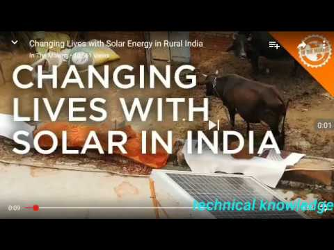Changing Lives with Solar Energy in Rural India