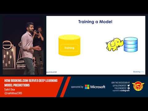 How Booking.com serves Deep Learning Model Predictions (Sahil Dua)