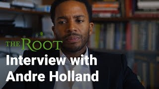 'Moonlight' Star, Andre Holland on Masculinity & Homosexuality in the Black Community