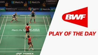 Play Of The Day | Badminton SF - CROWN GROUP Australian Open 2017